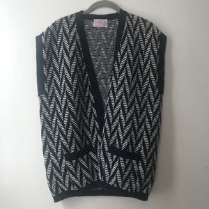 Pendleton • Geometric Sweater Vest *L
